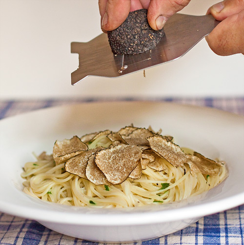 Black Truffles Over Fresh Pasta Recipes — Dishmaps