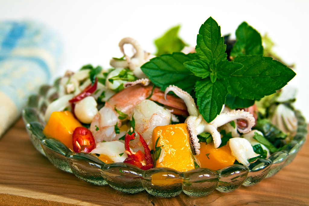 Thai-style Seafood Cocktail