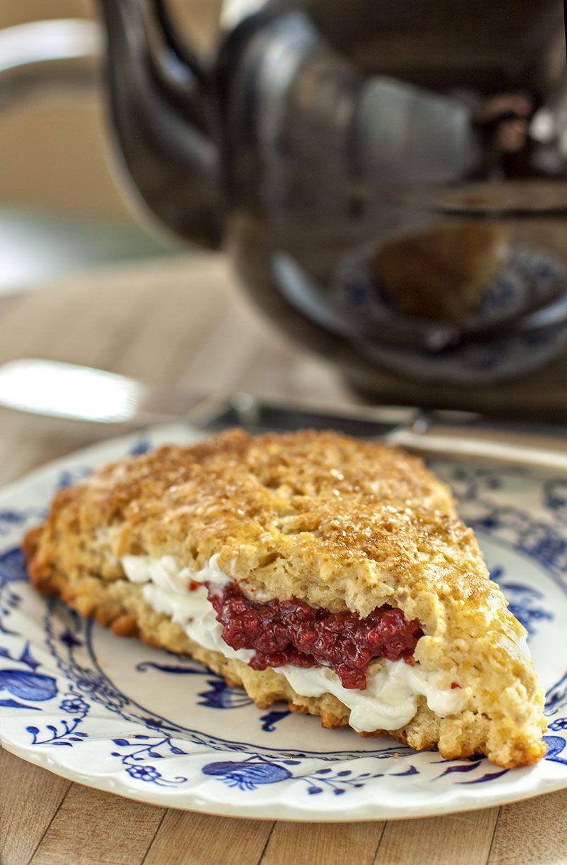 Maple-Oat Scones with Bourbon Smoked Sugar | The Earthy Delights Blog