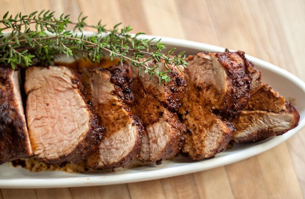 Spice-Crusted Roast Pork Tenderloin Recipes — Dishmaps