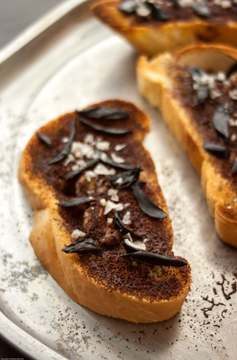 Bread with Chocolate, Olive Oil & Black Garlic | The Earthy Delights ...