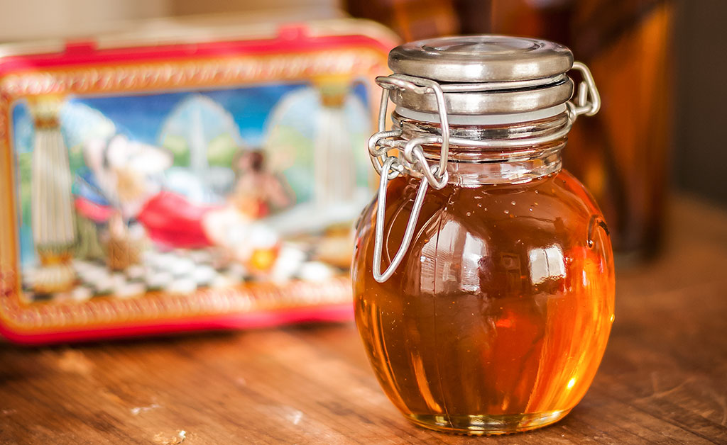 Honey, saffron and vanilla